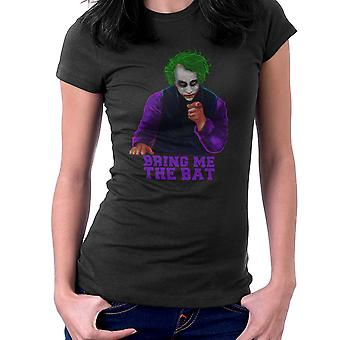 Batman Joker Bring Me The Bat Women's T-Shirt