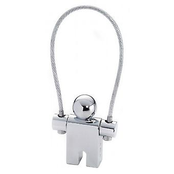 Trojka Jumper Key Ring - Zilver