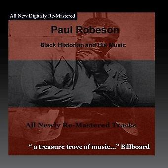Paul Robeson - svart historiker [CD] USA import