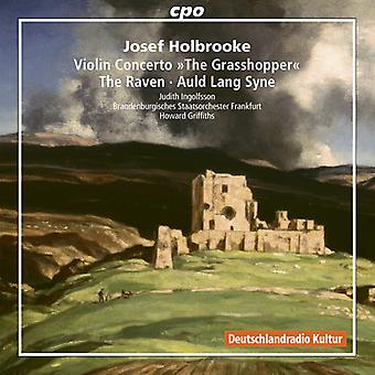 Holbrooke / Ingolfsson / Griffiths - Josef Holbrooke: Violin Concerto / Grasshopper [CD] USA import