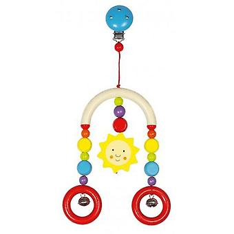 Goki Mini-trapeze sun (Toys , Preschool , Babies , Early Childhood Toys)