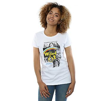 Wizard of Oz Women's Distressed Movie Poster T-Shirt