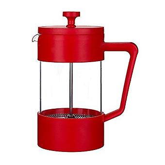 Grunwerg Cafe Ole Colours 1L Cafetiere Red