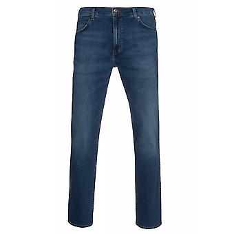 Wrangler pants mens jeans modern regular Greensboro Blau