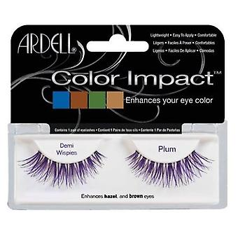 Ardell Impact Color tabs Demi Plum Wispies (Make-up , Eyes , Fake eyelashes)