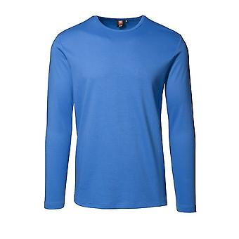 ID Mens Long Sleeve Slimline Fitted Interlock T-Shirt