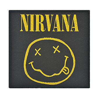 Nirvana Smiley Woven Patch