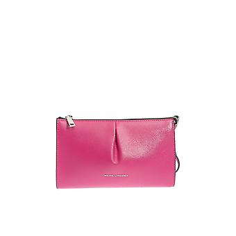 Marc Jacobs women's M0010210PINK pink leather clutch