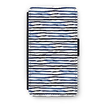 Samsung Galaxy A3 (2017) Flip Case - Surprising lines