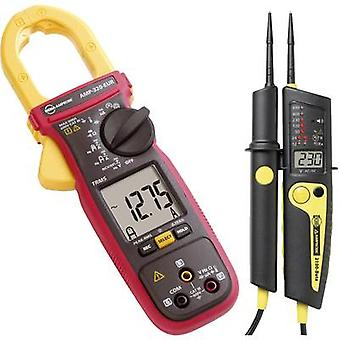 Clamp meter Digital Beha Amprobe Bundle 2 AMP-320 Calibrated to: Manufacturer's standards (no certificate) Display (co