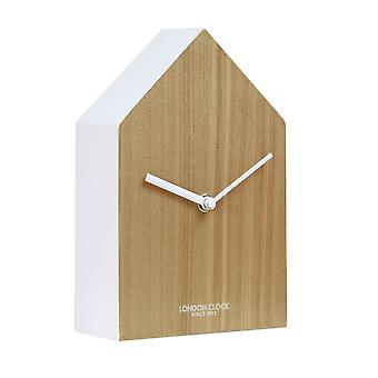 Oslo Hus Composite Wood Case Clock
