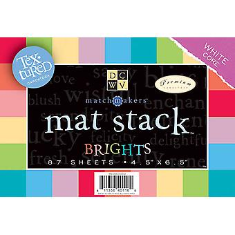 Textured Brights Mat Stack 4.5