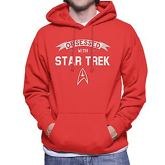 Obsessed With Star Trek Men's Hooded Sweatshirt