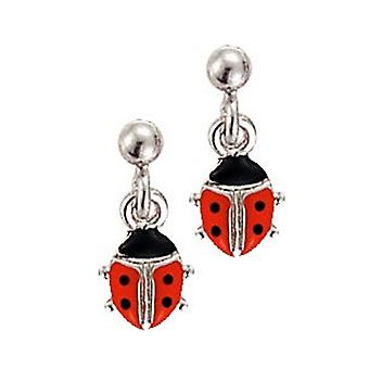 Scout children earrings silver Ladybug girl 262137100