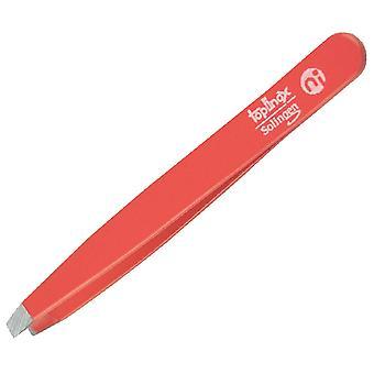 Topinox® Solingen Straight Tweezers Red