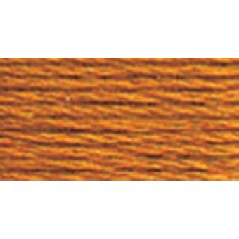 DMC 6-Strand Embroidery Cotton 100g Cone-Golden Brown Medium