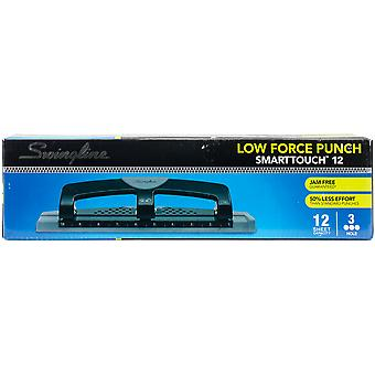 Swingline Smarttouch 3-Hole Punch Low Force-12 Sheet Capacity