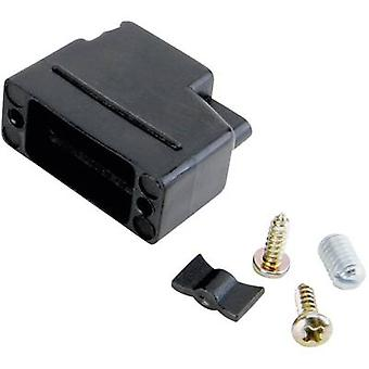 D-SUB housing Number of pins: 25 Plastic 180 ° Black Conec 165X10459XE 1 pc(s)