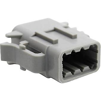 Amphenol ATM06 08SA Bullet connector Socket, straight Series (connectors): ATM Total number of pins: 8 1 pc(s)