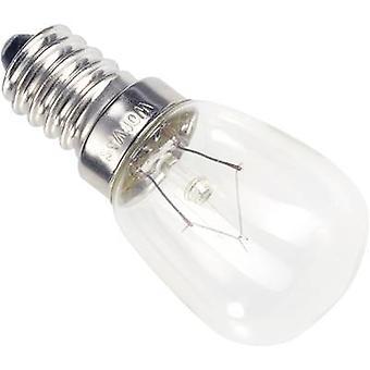 Mini-Glühlampe 220 V, 260 V 6 W, 10 W E14 klar 00982610 Barthelme 1 PC