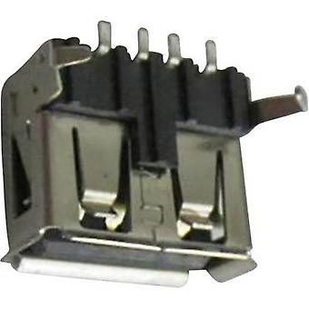Socket, horizontal mount DS1095-BNM0 Connfly Content: 1 pc(s)