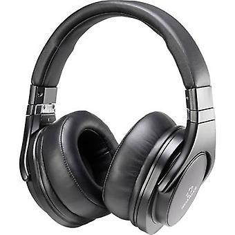 Renkforce HP-P266 Headphones On-ear Headset Black