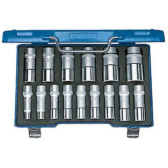Bit set Metric 1/2 (12.5 mm) 15-piece Gedore