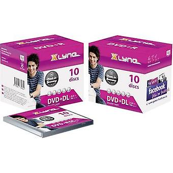 Xlyne 4J10000 Blank DVD-R DL 8.5 Gb 10 pc(s) Coffret bijou