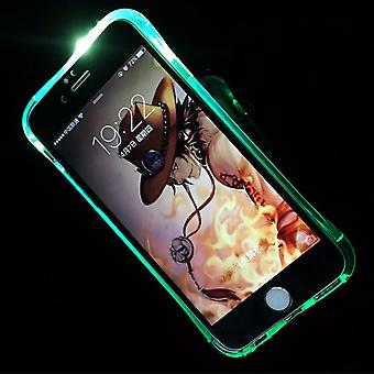 Mobile case LED Licht call for phone Apple iPhone 7 plus blue