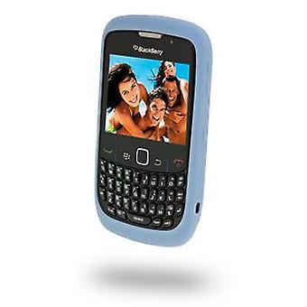 BlackBerry goma piel caso para Blackberry 8500 Series Curve2 - hielo azul