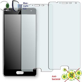 WIKO Ufeel screen protector - Disagu ClearScreen protector (deliberately smaller than the display, as this is arched)