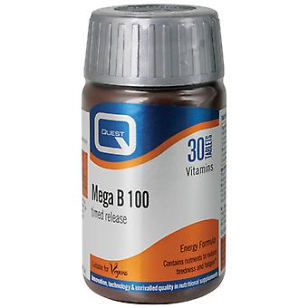 Quest B Complex Timed Release, 30 tablets