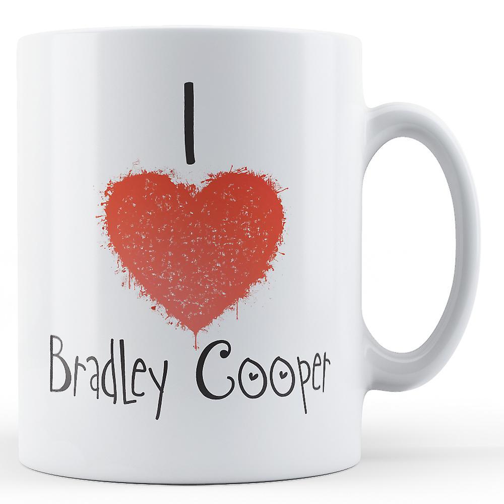 Tasse Cooper Love Décorative Bradley Écrit J'ai Imprimé WxBeQCoErd