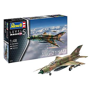 Revell 03915 MiG-21 SMT Model Kit- Scale 1:48