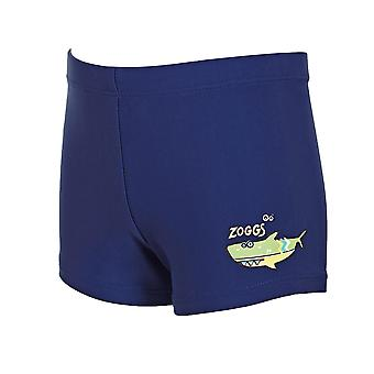 Zoggs Junior Boys Swimming Trunks Hip Racer Navy for 1-6 Years Kids