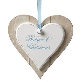Ciel envoie 1er arbre de Noël décoration de garçons de bébé