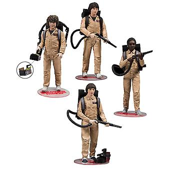 Stranger things Deluxe box Ghostbusters action figure set 4 action figures. Manufacturer: McFarlane.
