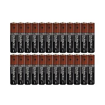 24 x AAA Duracell Duralock Deluxe Alkaline Batteries LR03, MX2400, MN2400