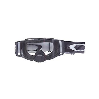 Oakley Matte Black Speed-Clear Front Line MX Goggle