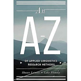 Un AZ de métodos de investigación de lingüística aplicada