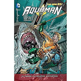 Aquaman Volume 5: Mar das tormentas TP (52 novo)