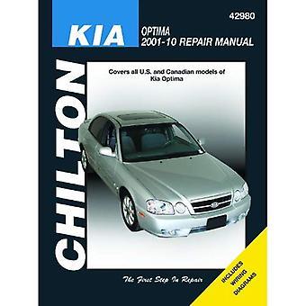 Kia Optima 2001-10 réparation manuelle de Chilton