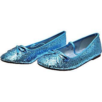 Flache Ballett Glitter Ch Bu Xsm