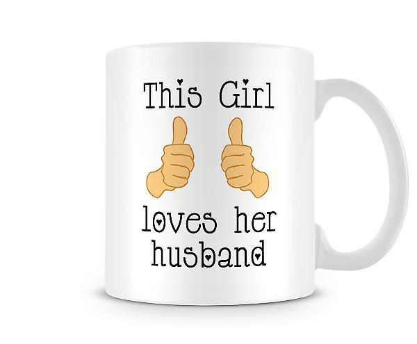 This Girl Loves Her Husband Mug