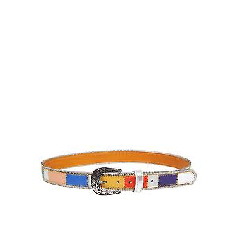 Nanni Multicolor Leather Belt