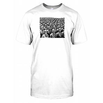 Korean Army Soldier - Classic War Mens T Shirt