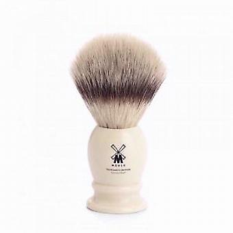 Muhle Ivory Synthetic Fibre Silvertip Shaving Brush (Medium)