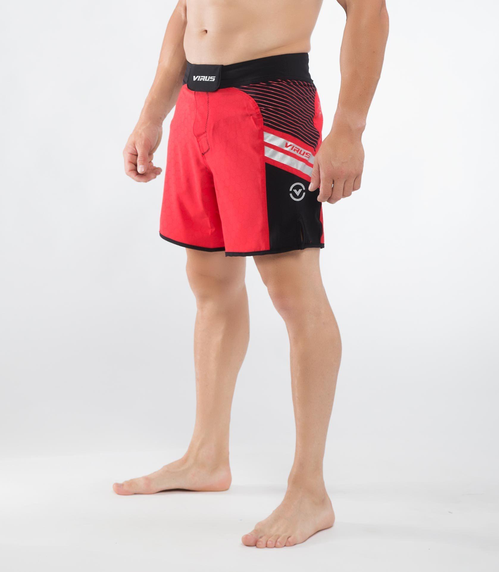 Lutter contre le virus Mens ST2 catastrophe II Shorts - rouge noir