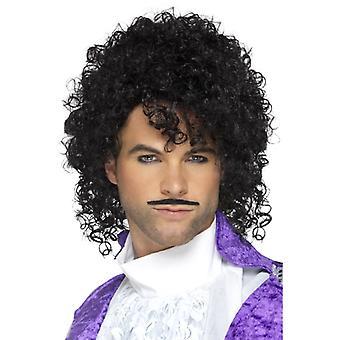 80 lat mężczyzn peruka w stylu Prince