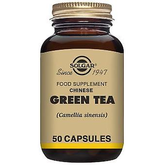 Solgar Green Tea Leaf Extract 60 Vegetable Capsules (Dietética , Suplementos)